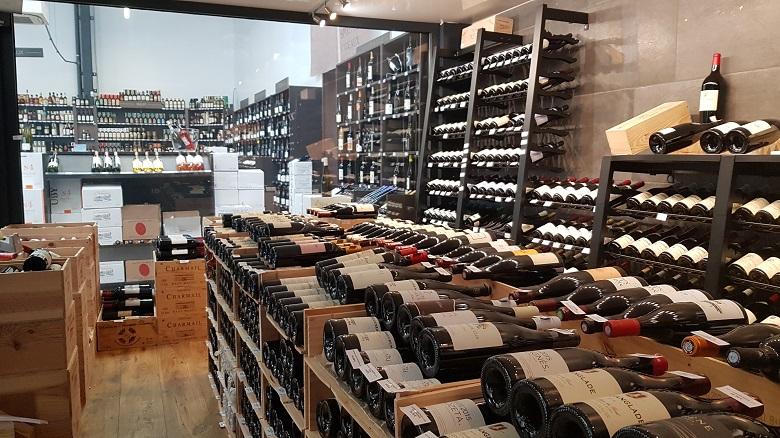 caveau aux secrets des vins vue d'ensemble