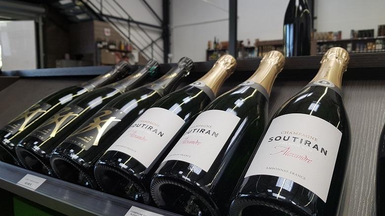 Champagne aux secrets des vins Soutiran Alexandre 3A De Sousa