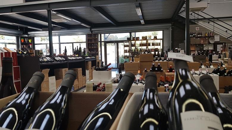 aux secrest des vins Vue d ensemble